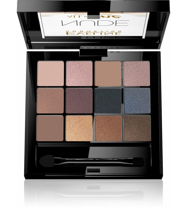 Eveline Pentru ochi Fard de ochi Eveline All in One Eyeshadow Palette Nude